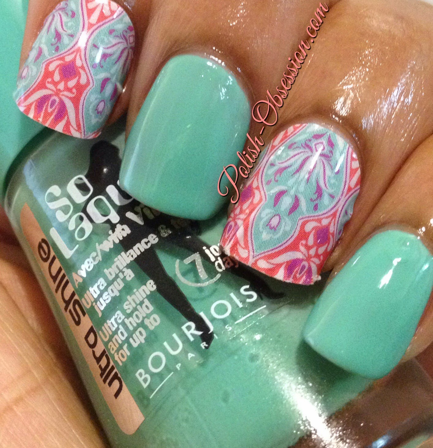 Jamberry Nails - Faded Deco | Polish Obsession