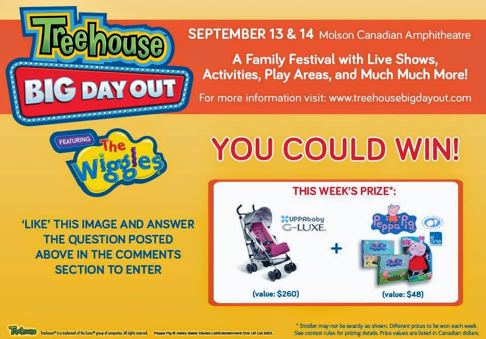 Win a Stroller and Prize pack ends Aug 18 Open to Canada except Quebec