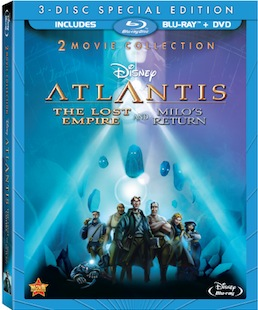 Atlantis, movies, Disney