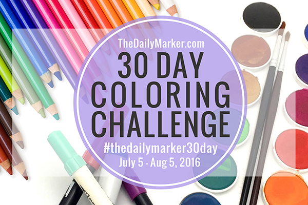 30-Day Coloring Challenge
