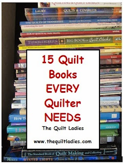 15 Quilt Books every Quilters needs