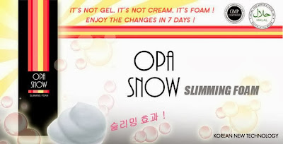 Opa Snow Slimming Foam