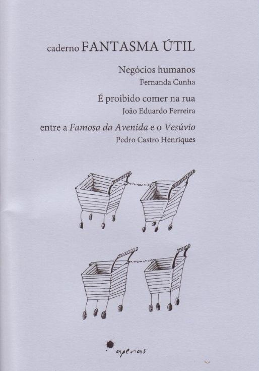Livro: «caderno Fantasma Útil / Negócios Humanos»