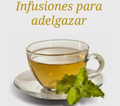 infusiones para adelgazar