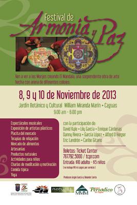 Borijangueo el festival de armon a y paz regresa al for Actividades en el jardin botanico de caguas