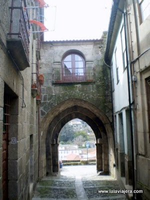 Puerta Sol Murallas Lamego, Portugal
