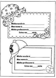 MODELOS DE CRACHÁS ESCOLARES PARA 2013