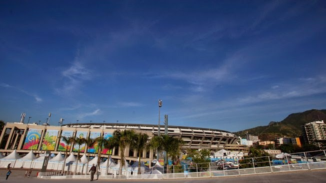 Stadium of ESTADIO DO MARACANA