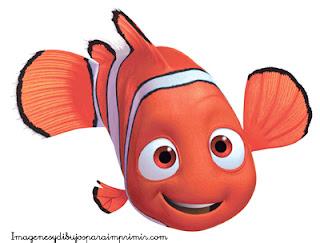 Nemo es un pez payaso Dibujos de nemo para imprimir