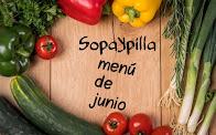 Propuestas de menú para JUNIO