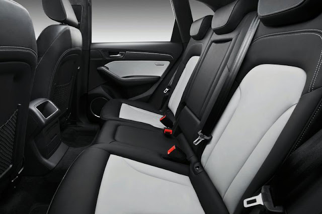2013 Audi SQ5 TDi Back sit Interior