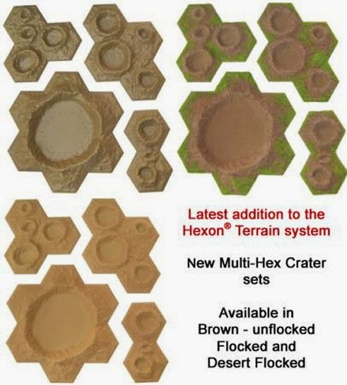 New Multi-Hex Crater Sets