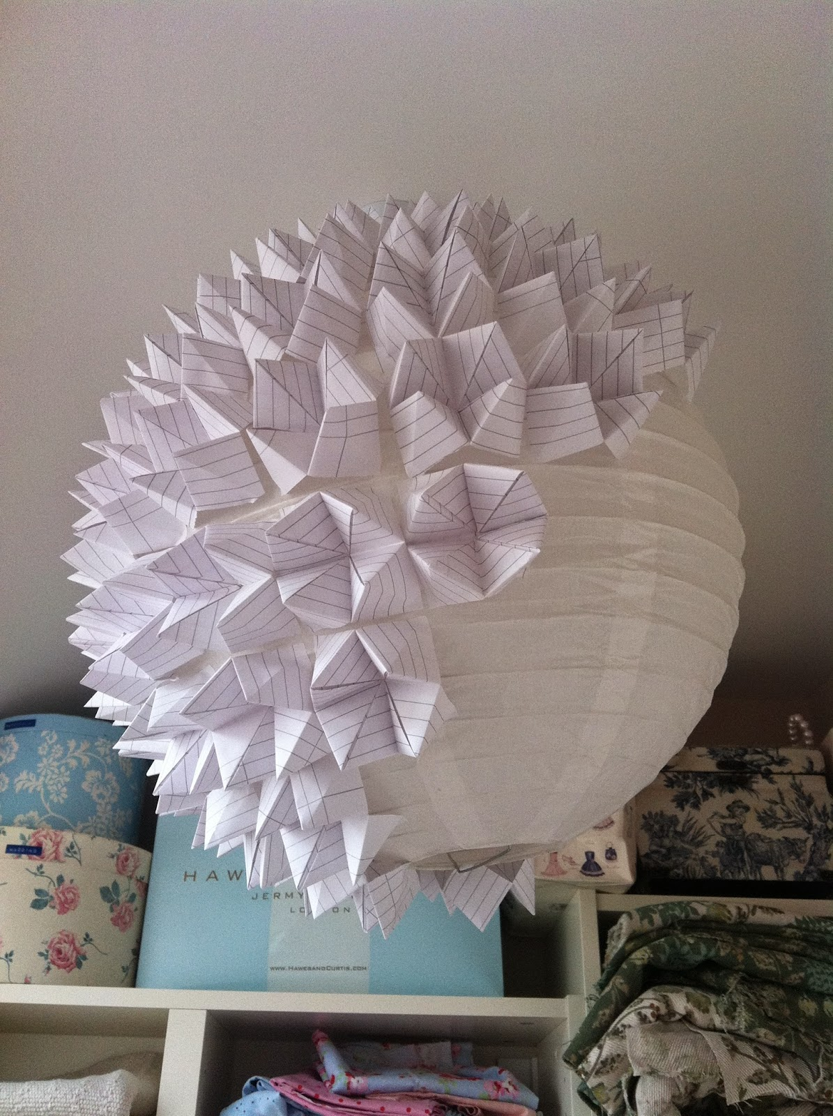 House of newns diy geometric origami lampshade tutorial house of newns aloadofball Images