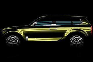 Kia Telluride Concept (2016 Rendering) Side