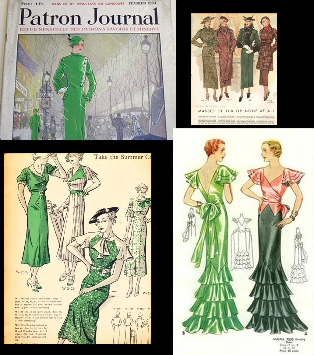 Green Ball Bernays Dresses