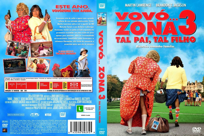 Vovó... Zona 3 Tal pai, Tal Filho DVD Capa