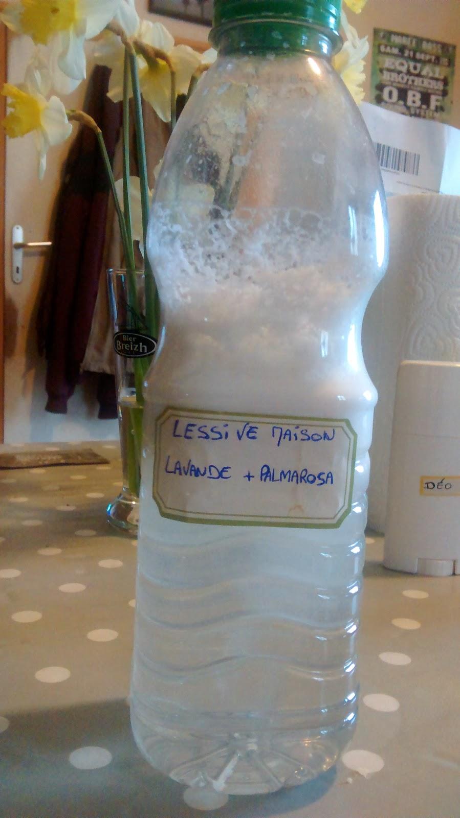 Les tambouilles d 39 orlane ma lessive maison - Lessive maison quelle huile essentielle ...