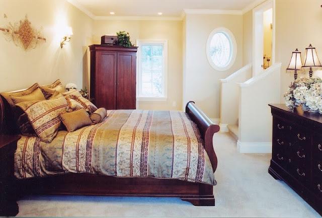 Foto interior kamar tidur rumah idaman