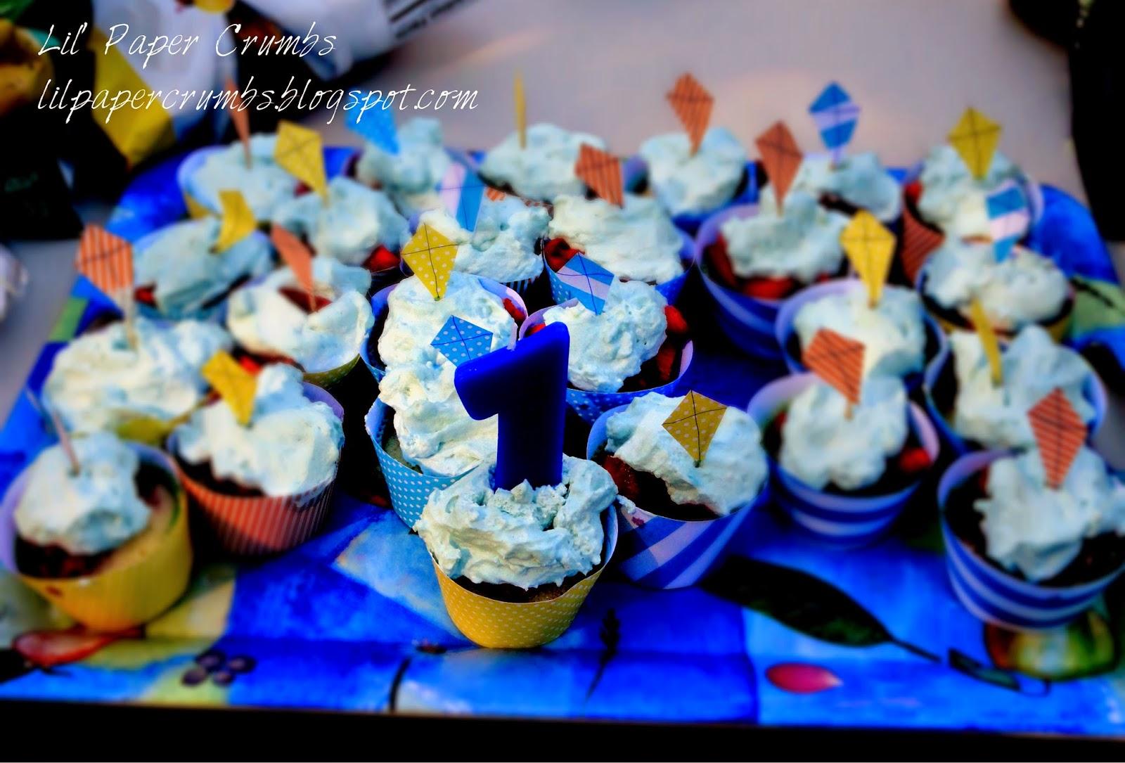 1st Bday Cupcakes