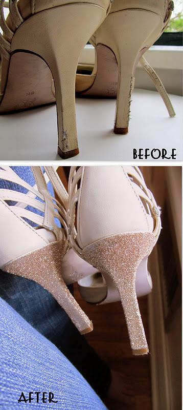 renovar zapatos de tacón