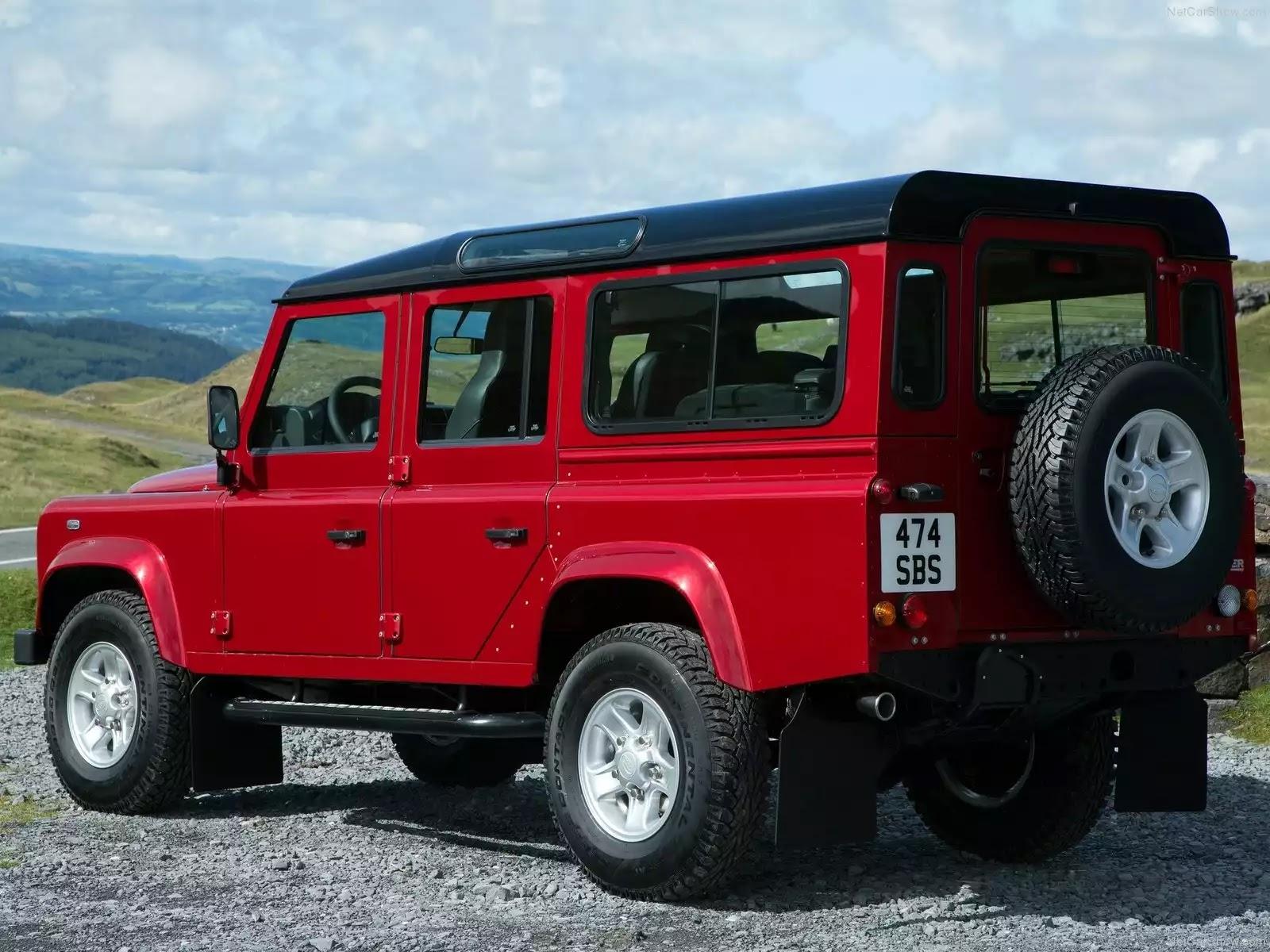 Hình ảnh xe ô tô Land Rover Defender 2013 & nội ngoại thất