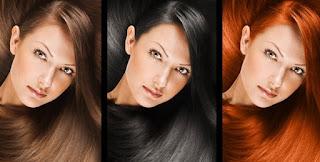 Pewarna rambut alam dan halal