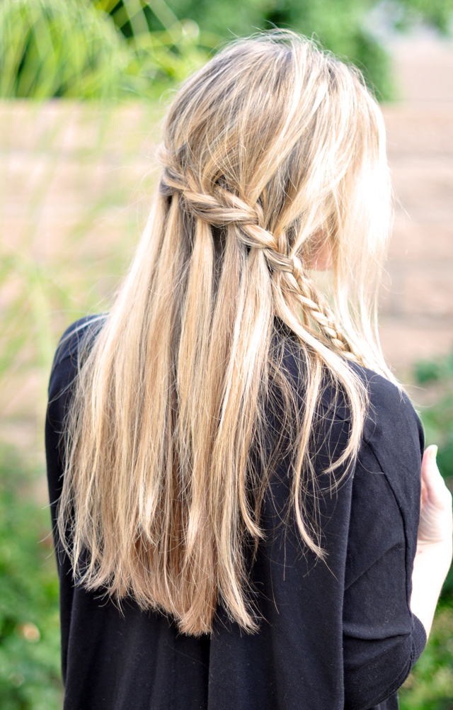 Cascading Hair Tutorial and Pictures
