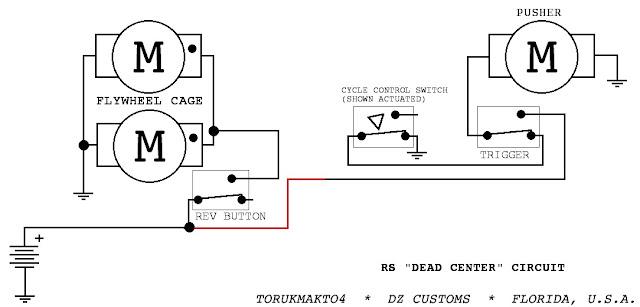the dart zone  tech  rapidstrike control circuits part 1