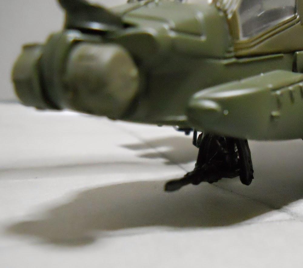 maquetismo de helicopteros a escala ah-64-apache