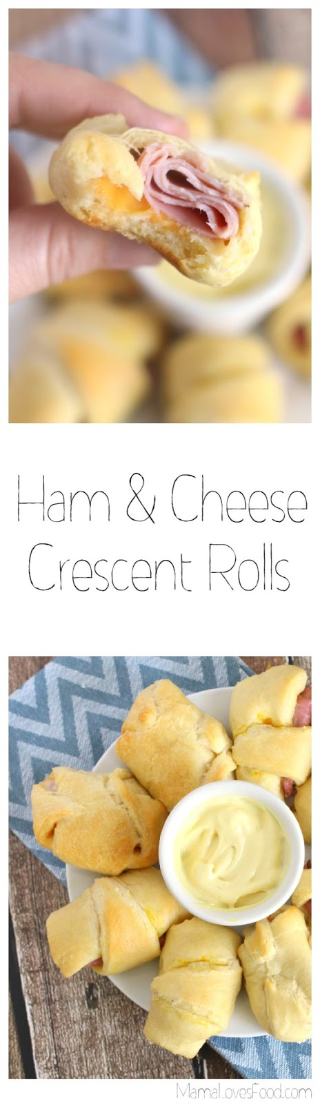 Ham & Cheese Crescent Rolls