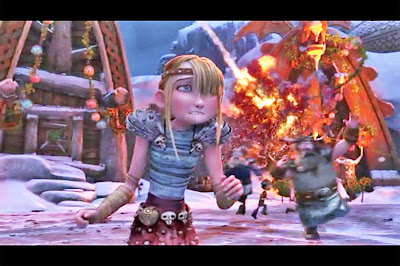 Dragons Gift Night Fury Astrid Netflix Christmas Holiday specials
