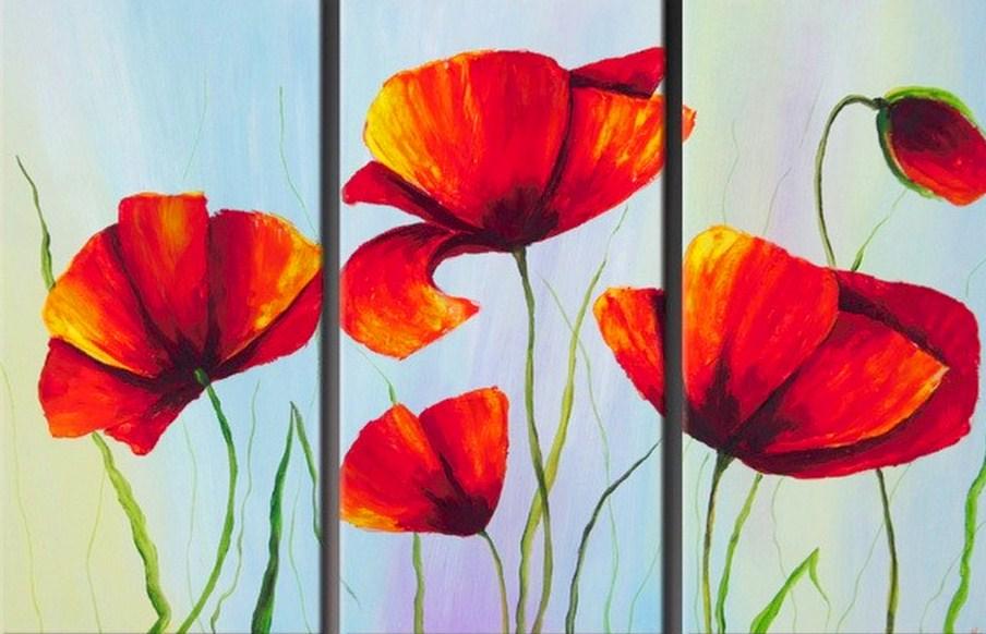 cuadros decorativos con flores cuadros con flores decorativos flores