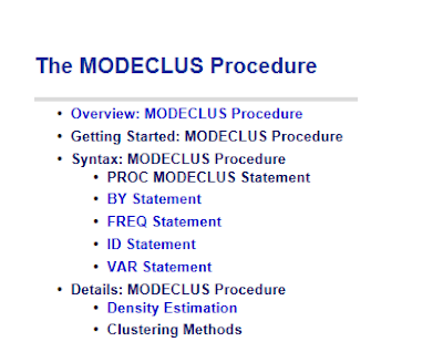 Finding the closest pair in a dataset using PROC MODECLUS