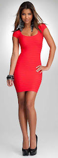 bodycon dress fashion colored