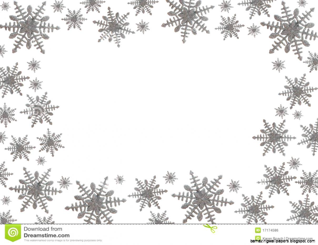Snowflake Border Royalty Free Stock Image   Image 17174586