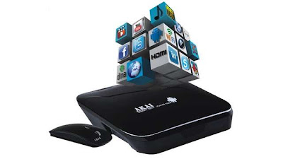 Akai Smart Box based on android operating system buy now