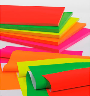papel regalo color fluor