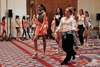 Miss Universe 2011 Contestants exercises3