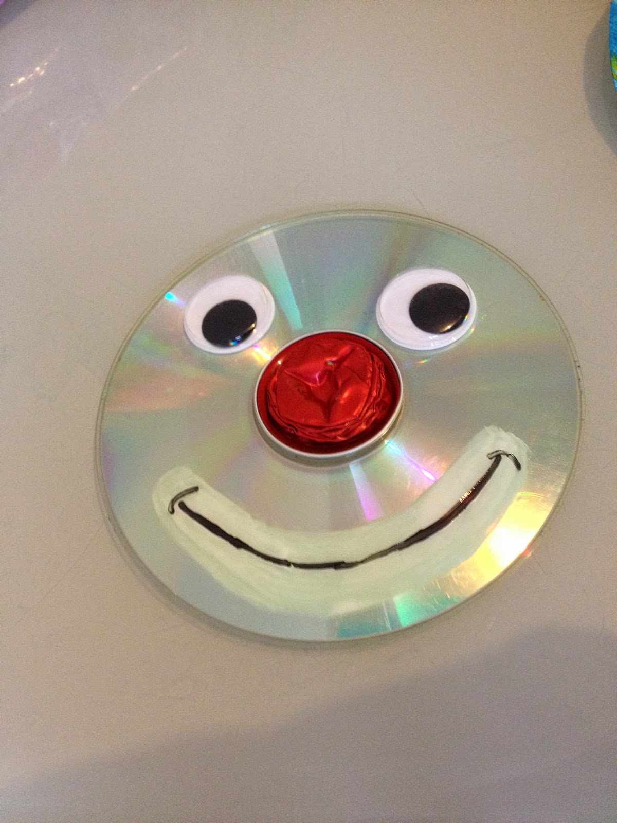 Les diy de fishounette clown cd - Dessiner un noeud ...
