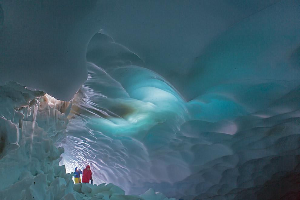 Ледяные пещеры Камчатки 8 фото