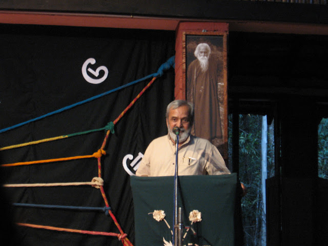 Dr. U R Ananthamurthy speaking at Ninasam, Heggodu