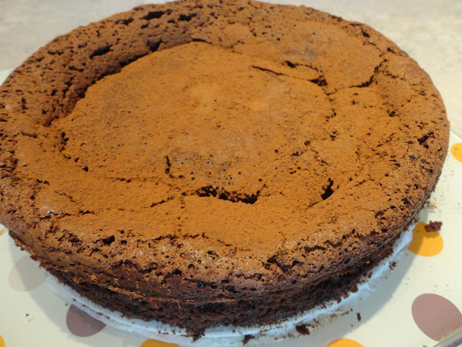 ... Delicious All That's Gluten Free: Karina's Chocolate Truffle Cake