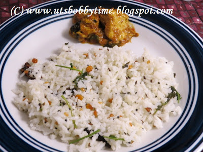 Coconut Rice recipe / Easy indian recipe