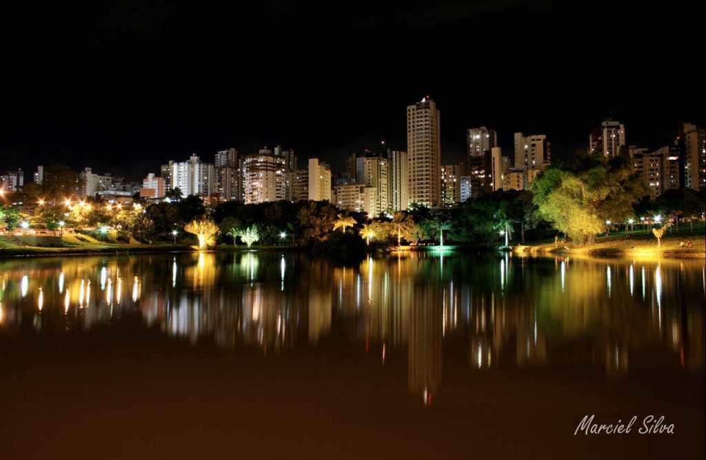 jardim vertical goiania:Boletim de Goiás: Belezas de Goiás: Noite em Goiânia