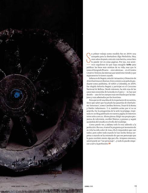 Juliana Robledo Revista SoHo Colombia Julio 2015 + PDF 4