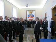 Immagini della premiazione dei Carabinieri di Puglia