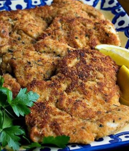 Parmesan Chicken Cutlets (4 Points+) | Weight Watchers Recipes