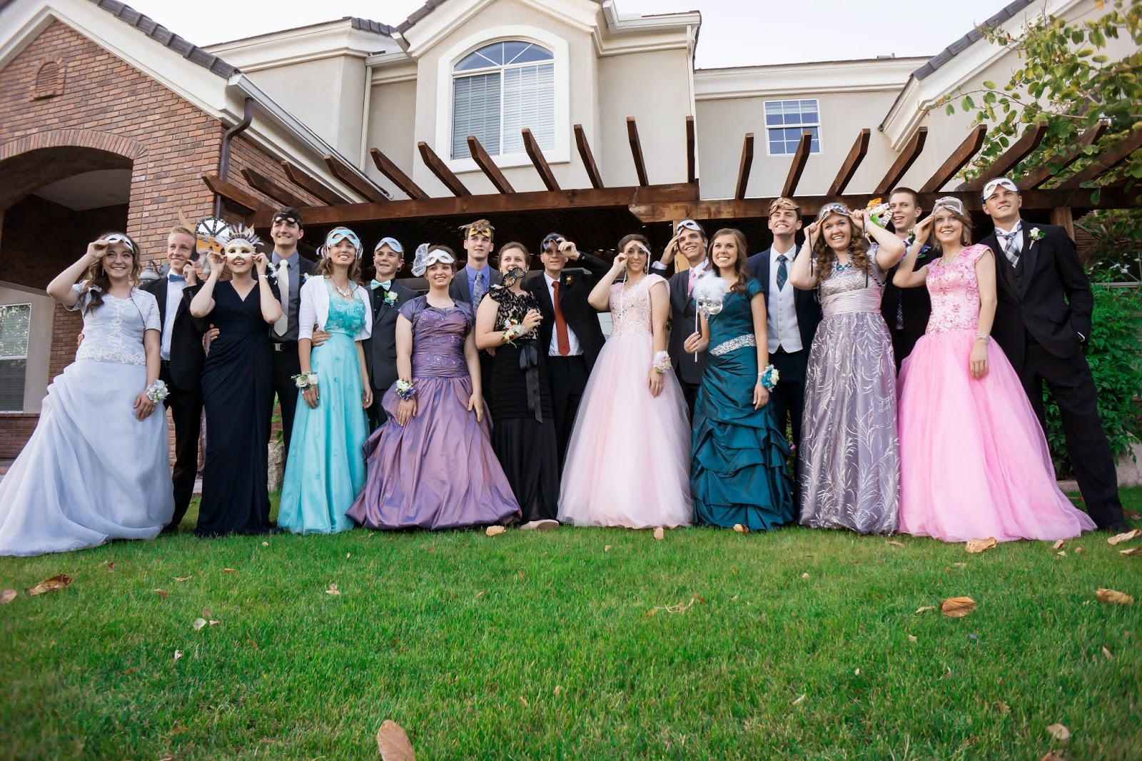 In Keeping With The Whole Phantom Of Opera Theme Heritage S Prom Was A Masquerade