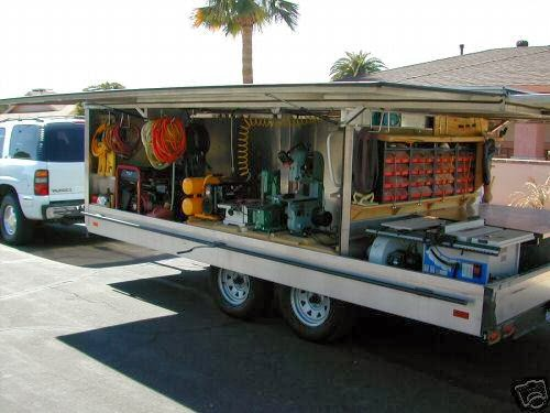 Portable Trailers Work : The good word groundswell stolen construction trailer