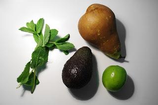 mouss de aguacate - ingredientes